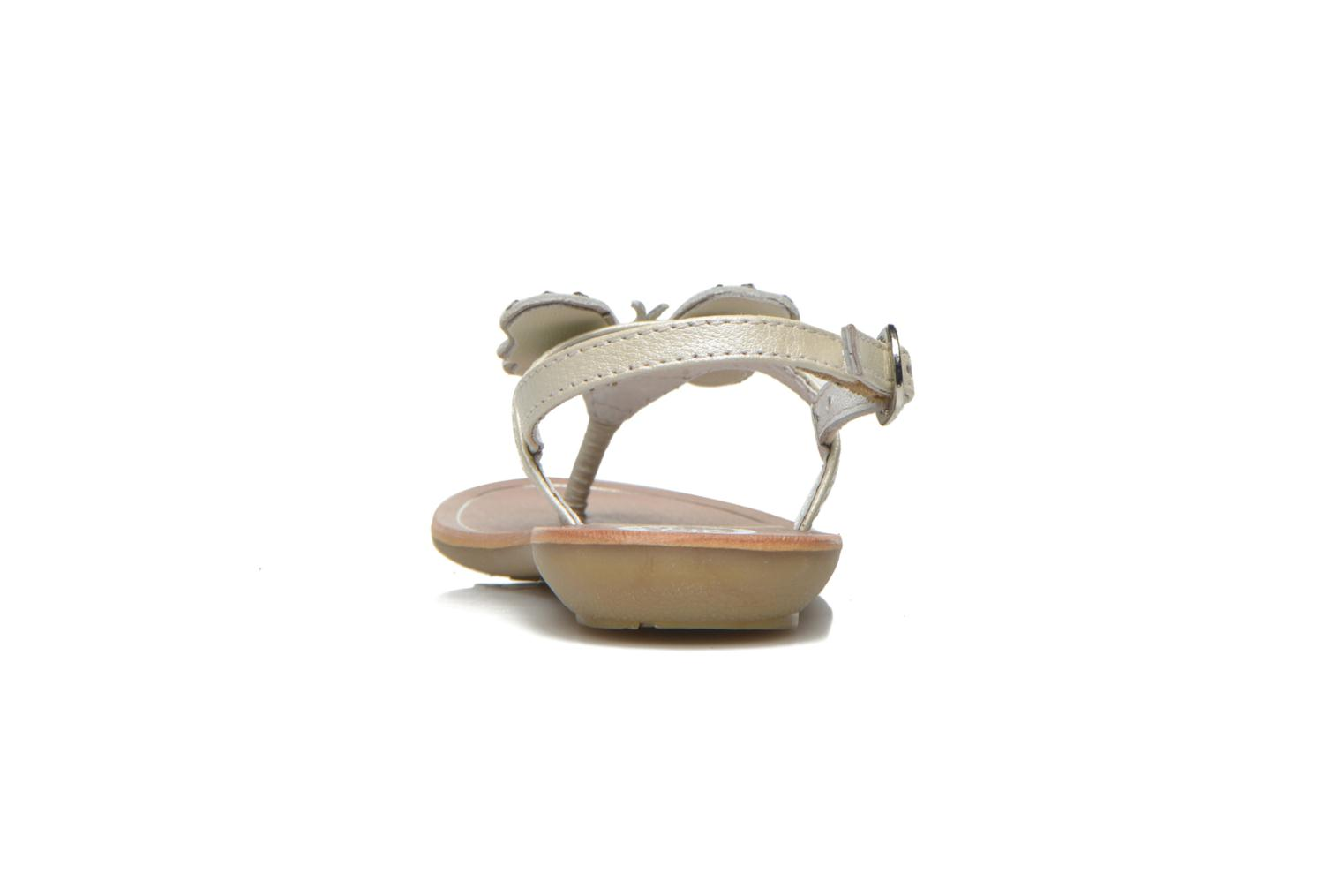 Sandals Gioseppo Regio White view from the right