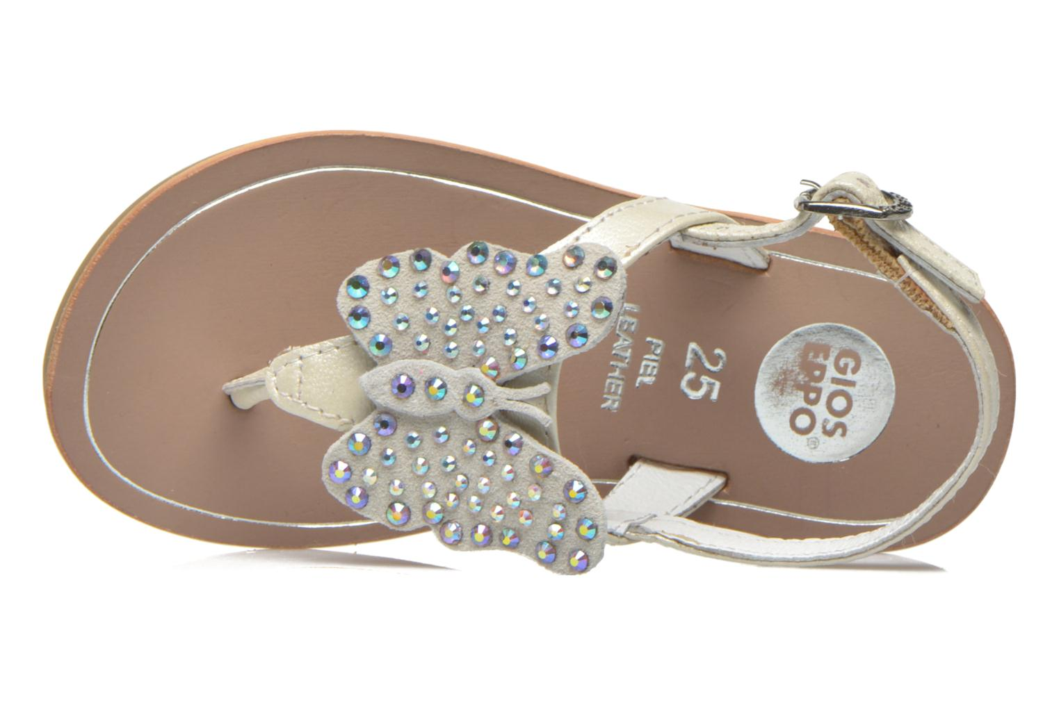 Sandals Gioseppo Regio White view from the left