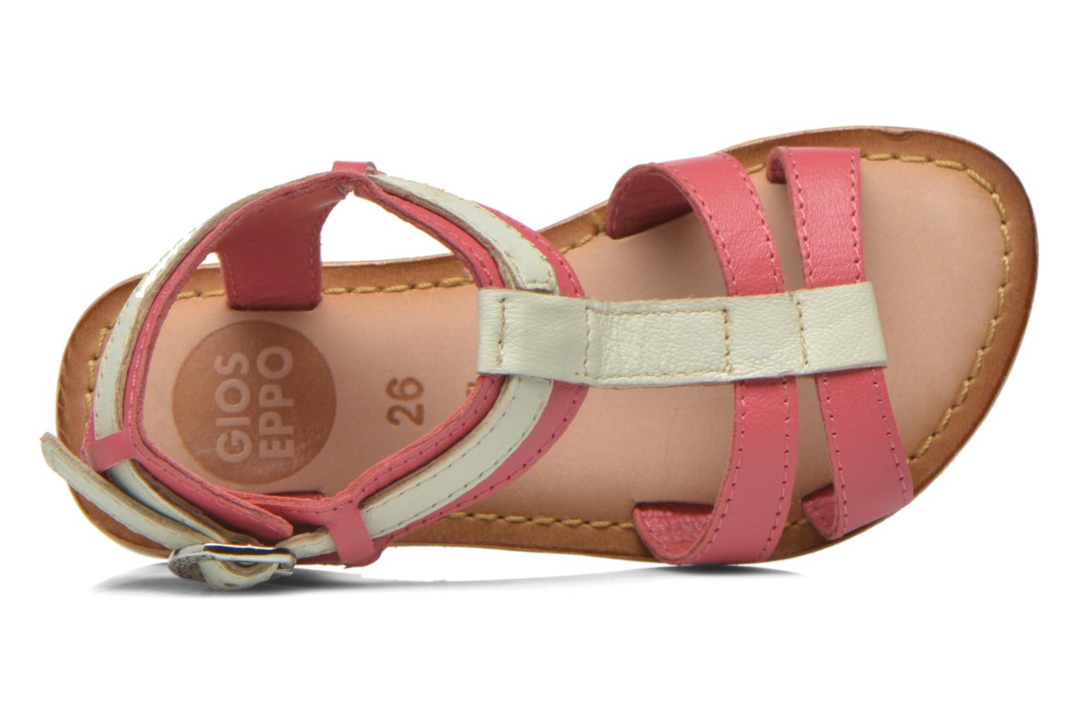 Sandals Gioseppo Tulipe Pink view from the left