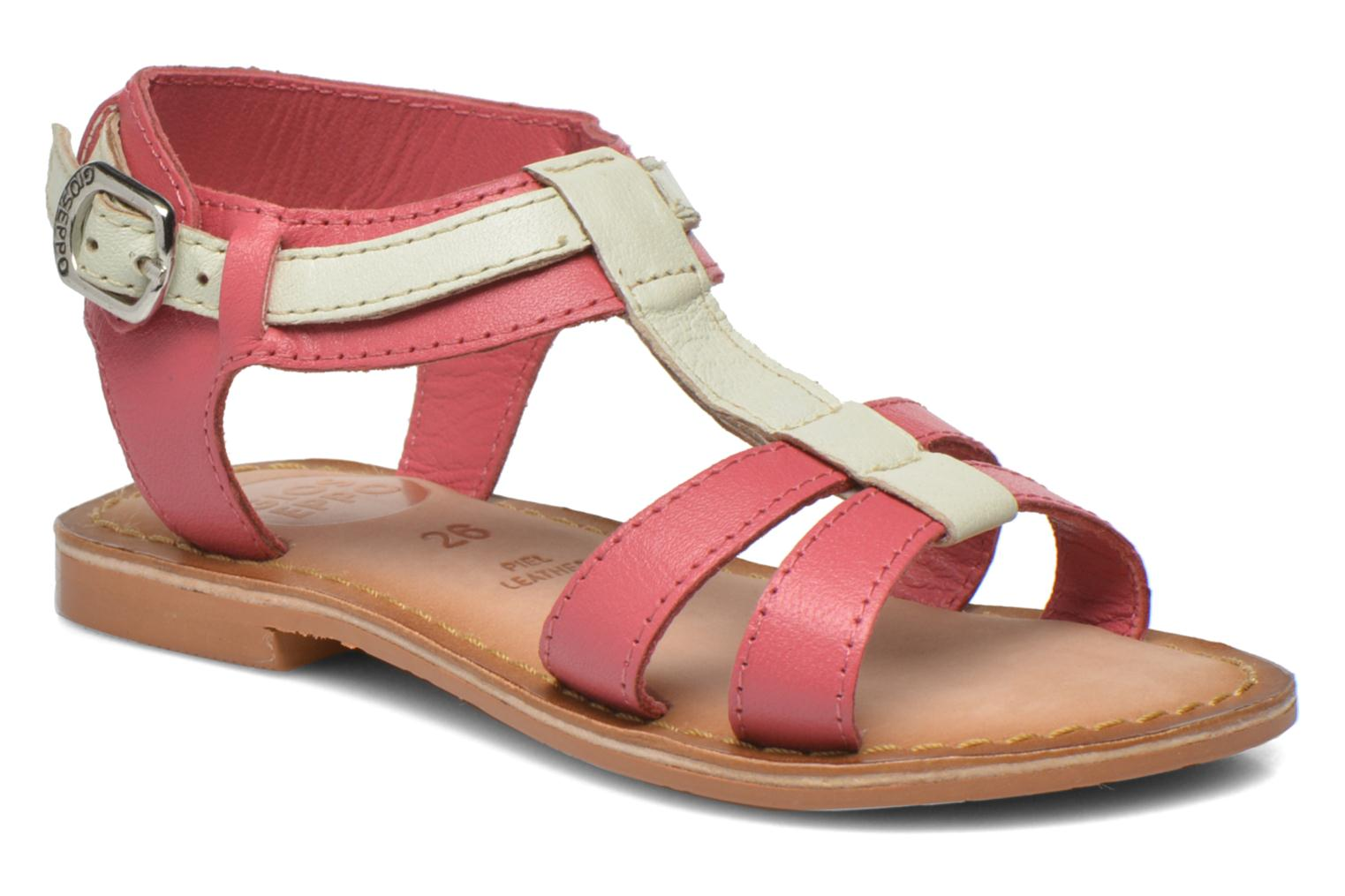 Sandals Gioseppo Tulipe Pink detailed view/ Pair view