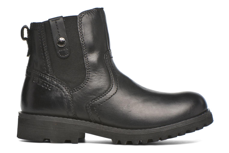 Bottines et boots Geox JR Axel Boy J5486A Noir vue derrière
