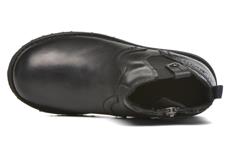 Bottines et boots Geox JR Axel Boy J5486A Noir vue gauche