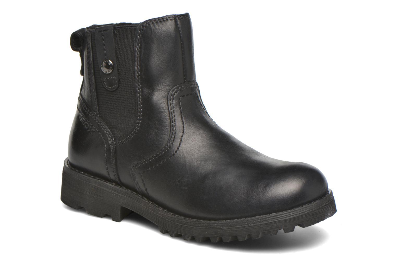 Bottines et boots Geox JR Axel Boy J5486A Noir vue détail/paire
