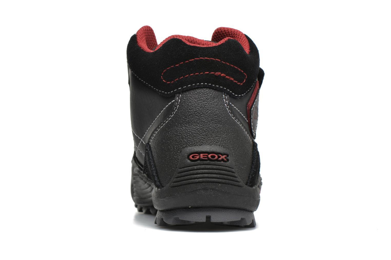 Sneaker Geox JR Savage J5424A schwarz ansicht von rechts
