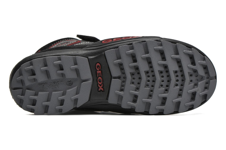 Sneaker Geox JR Savage J5424A schwarz ansicht von oben