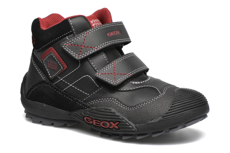 Sneaker Geox JR Savage J5424A schwarz detaillierte ansicht/modell