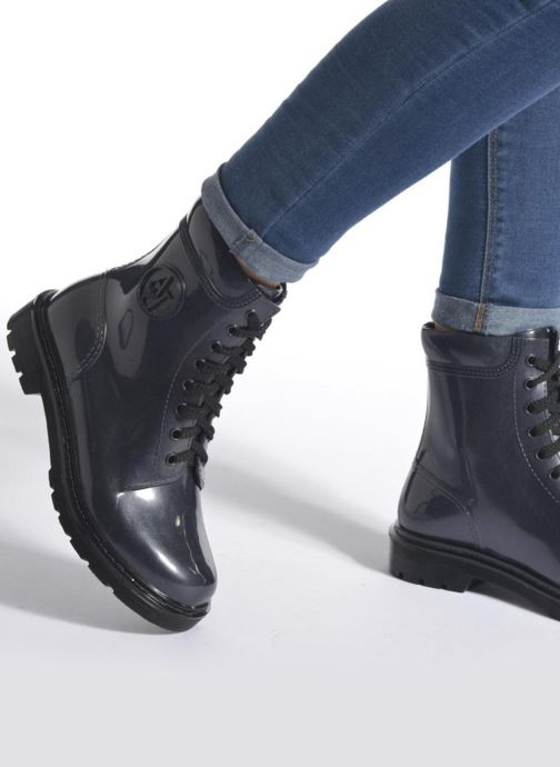 Bottines et boots Armani Jeans Claudia Bordeaux vue bas / vue portée sac