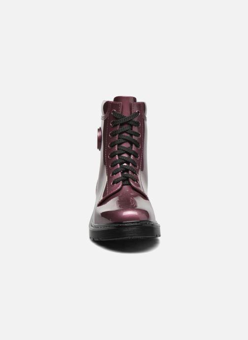 Bottines et boots Armani Jeans Claudia Bordeaux vue portées chaussures
