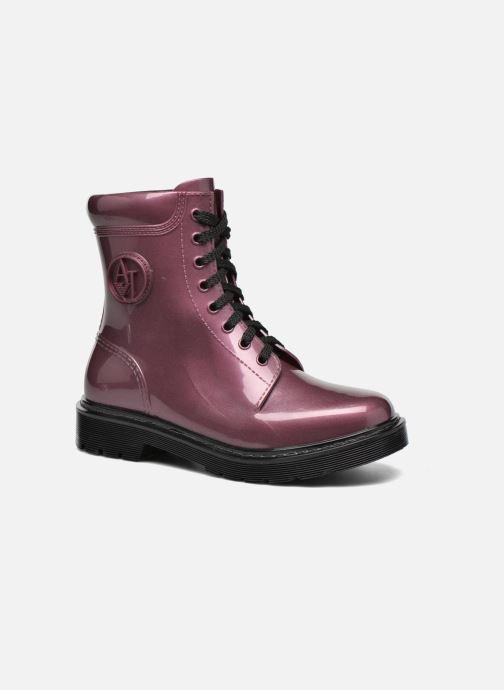Bottines et boots Armani Jeans Claudia Bordeaux vue détail/paire