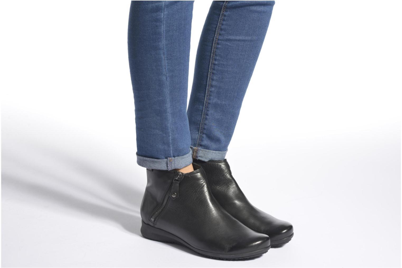 Bottines et boots Mephisto Filipina Noir vue bas / vue portée sac