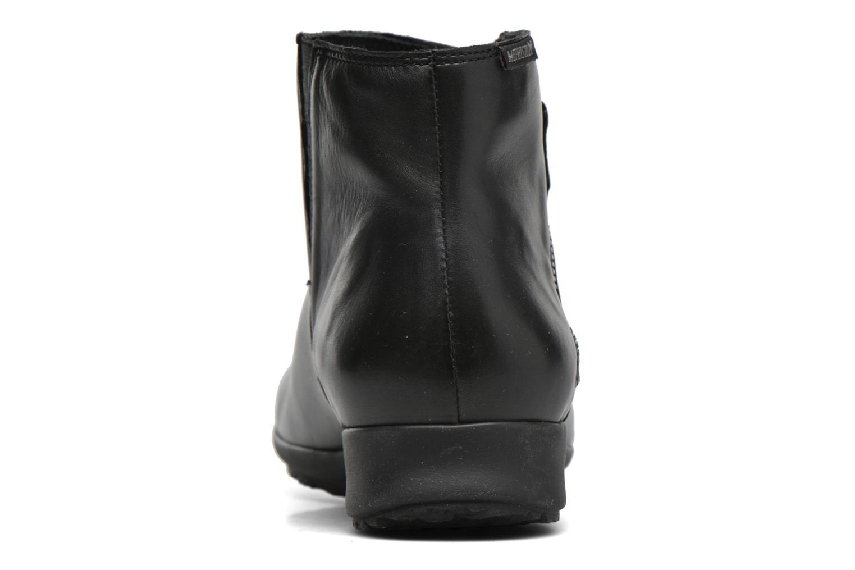 Bottines et boots Mephisto Filipina Noir vue droite