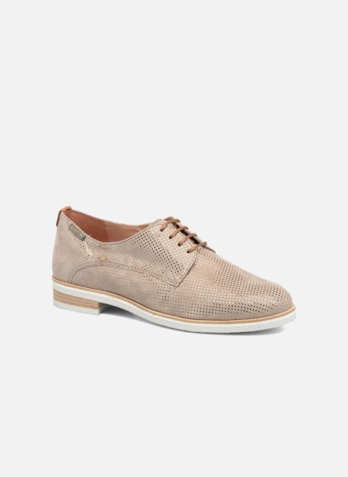 Chaussures à lacets Mephisto Poppy Beige vue détail/paire