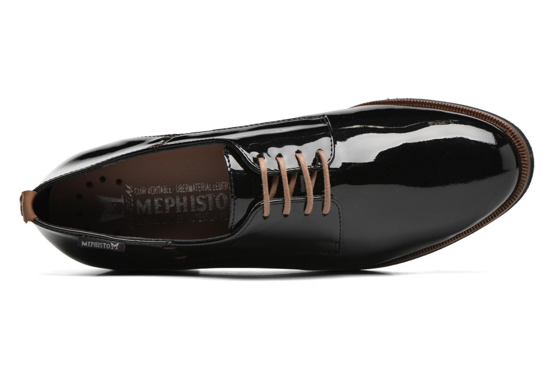 Chaussures à lacets Mephisto Poppy Noir vue gauche