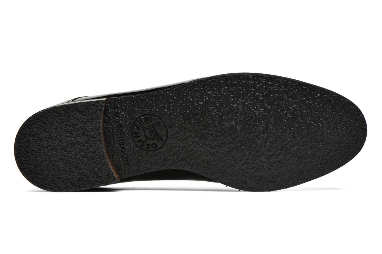 Chaussures à lacets Mephisto Poppy Noir vue haut