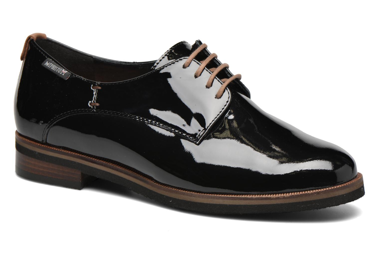 Chaussures à lacets Mephisto Poppy Noir vue détail/paire