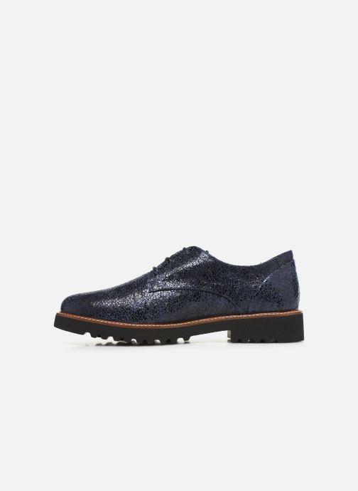 Chaussures à lacets Mephisto Sabatina Bleu vue face