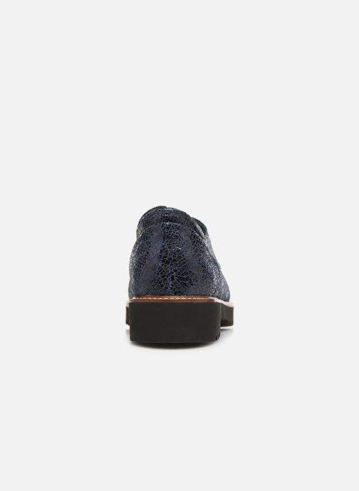 Chaussures à lacets Mephisto Sabatina Bleu vue droite