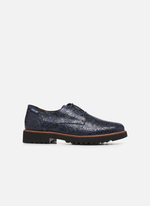 Chaussures à lacets Mephisto Sabatina Bleu vue derrière