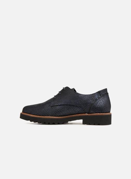 Lace-up shoes Mephisto Sabatina Blue front view