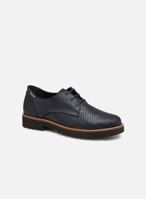 Lace-up shoes Mephisto Sabatina Blue detailed view/ Pair view