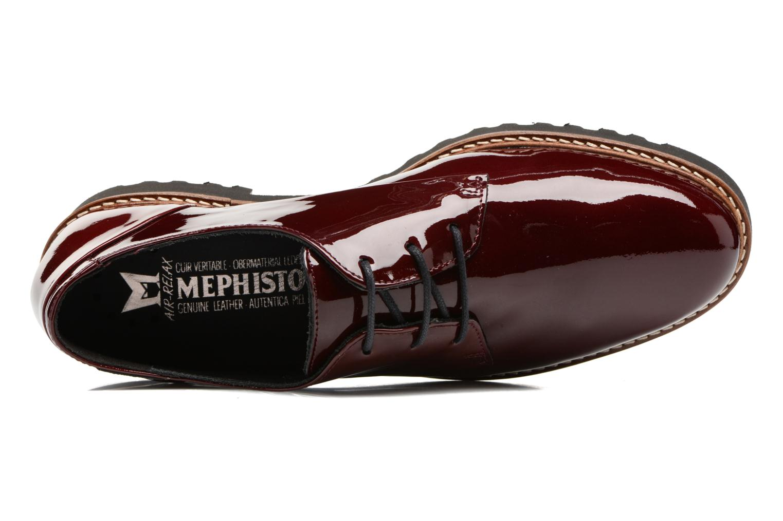 Veterschoenen Mephisto Sabatina Bordeaux links