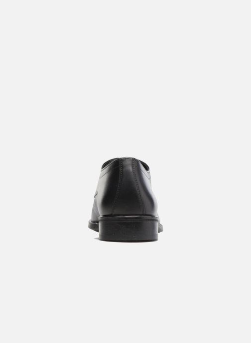 Zapatos con cordones Mephisto Cooper Negro vista lateral derecha