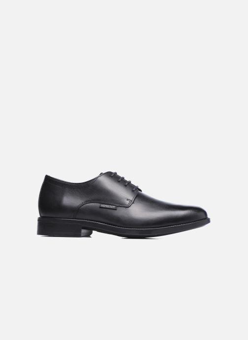 Zapatos con cordones Mephisto Cooper Negro vistra trasera