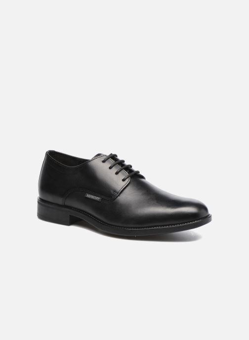 Zapatos con cordones Mephisto Cooper Negro vista de detalle / par