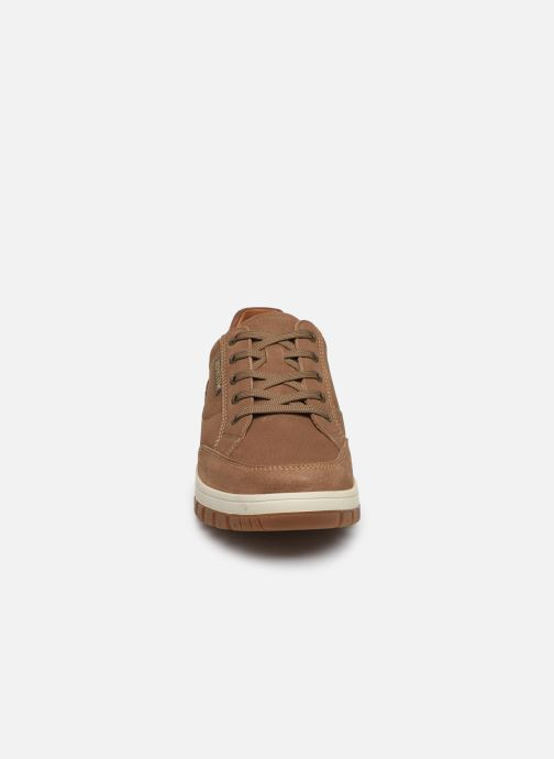 Baskets Mephisto Paco Marron vue portées chaussures