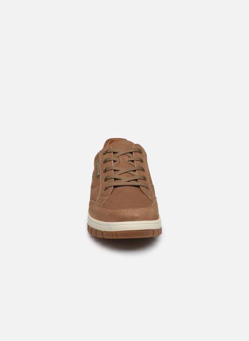 Baskets Mephisto Paco Marron vue portées chaussures