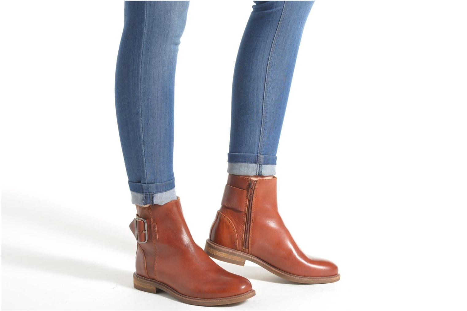 Ankle boots P-L-D-M By Palladium Namely CT Brown view from underneath / model view