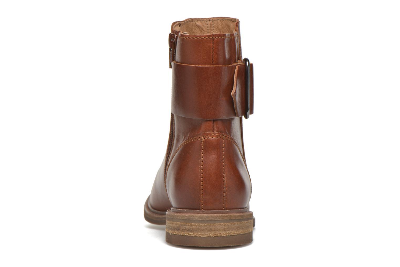 Bottines et boots P-L-D-M By Palladium Namely CT Marron vue droite