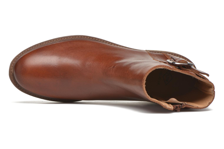 Bottines et boots P-L-D-M By Palladium Namely CT Marron vue gauche
