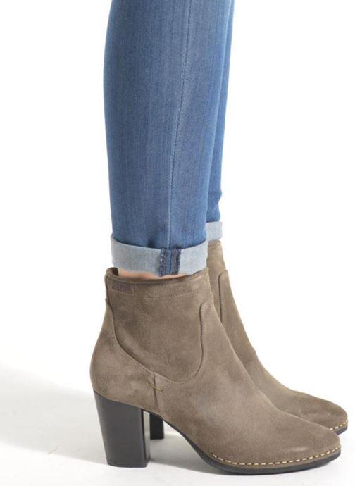 Bottines et boots P-L-D-M By Palladium Onside Sud Beige vue bas / vue portée sac