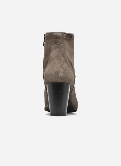 Bottines et boots P-L-D-M By Palladium Onside Sud Beige vue droite