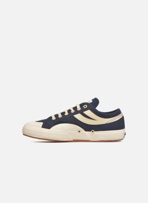 Baskets Superga 2750 Cotu Panatta Bleu vue face