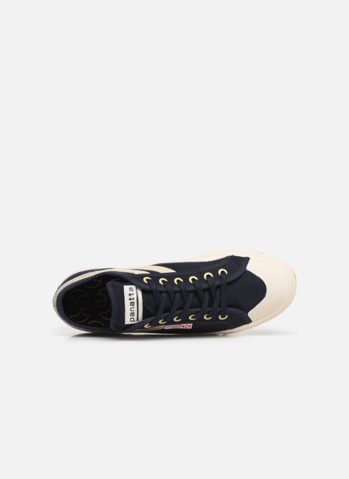 Sneakers Superga 2750 Cotu Panatta Azzurro immagine sinistra