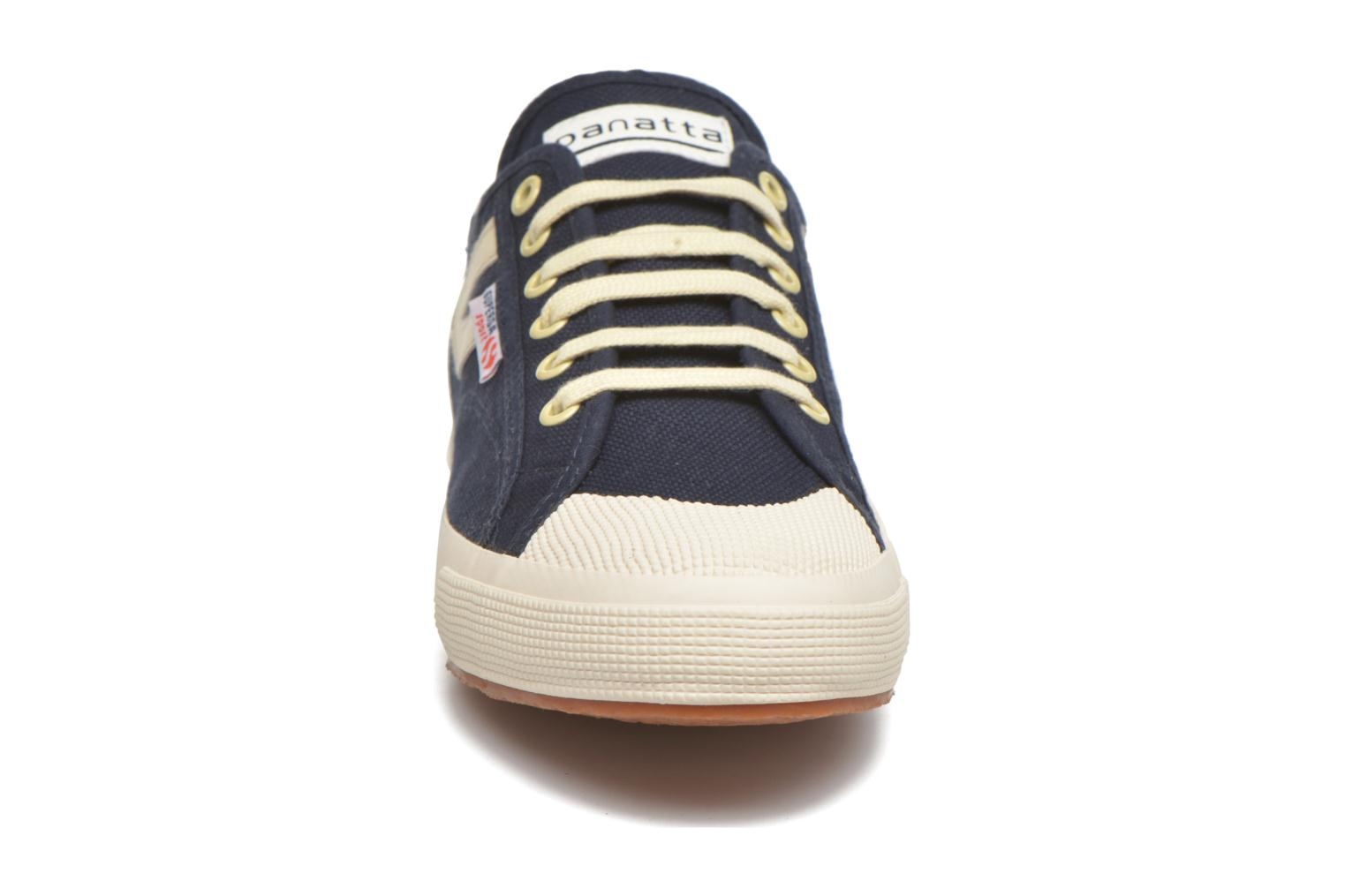 Trainers Superga 2750 Cotu Panatta Blue model view