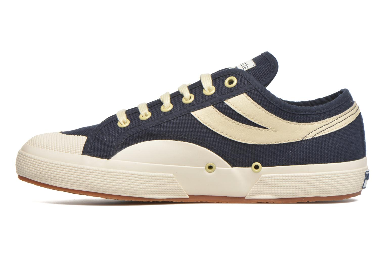 Trainers Superga 2750 Cotu Panatta Blue front view
