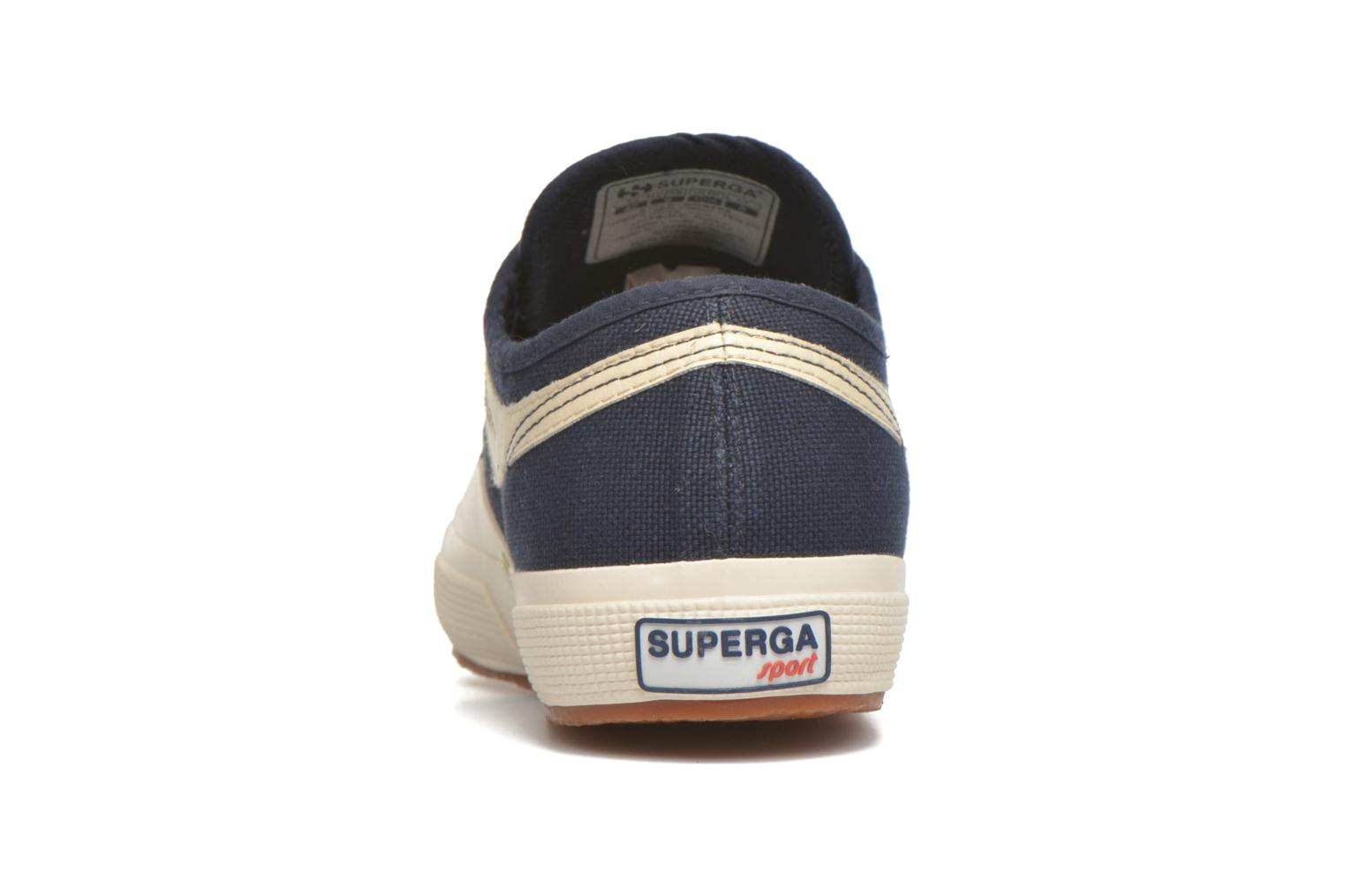 Trainers Superga 2750 Cotu Panatta Blue view from the right