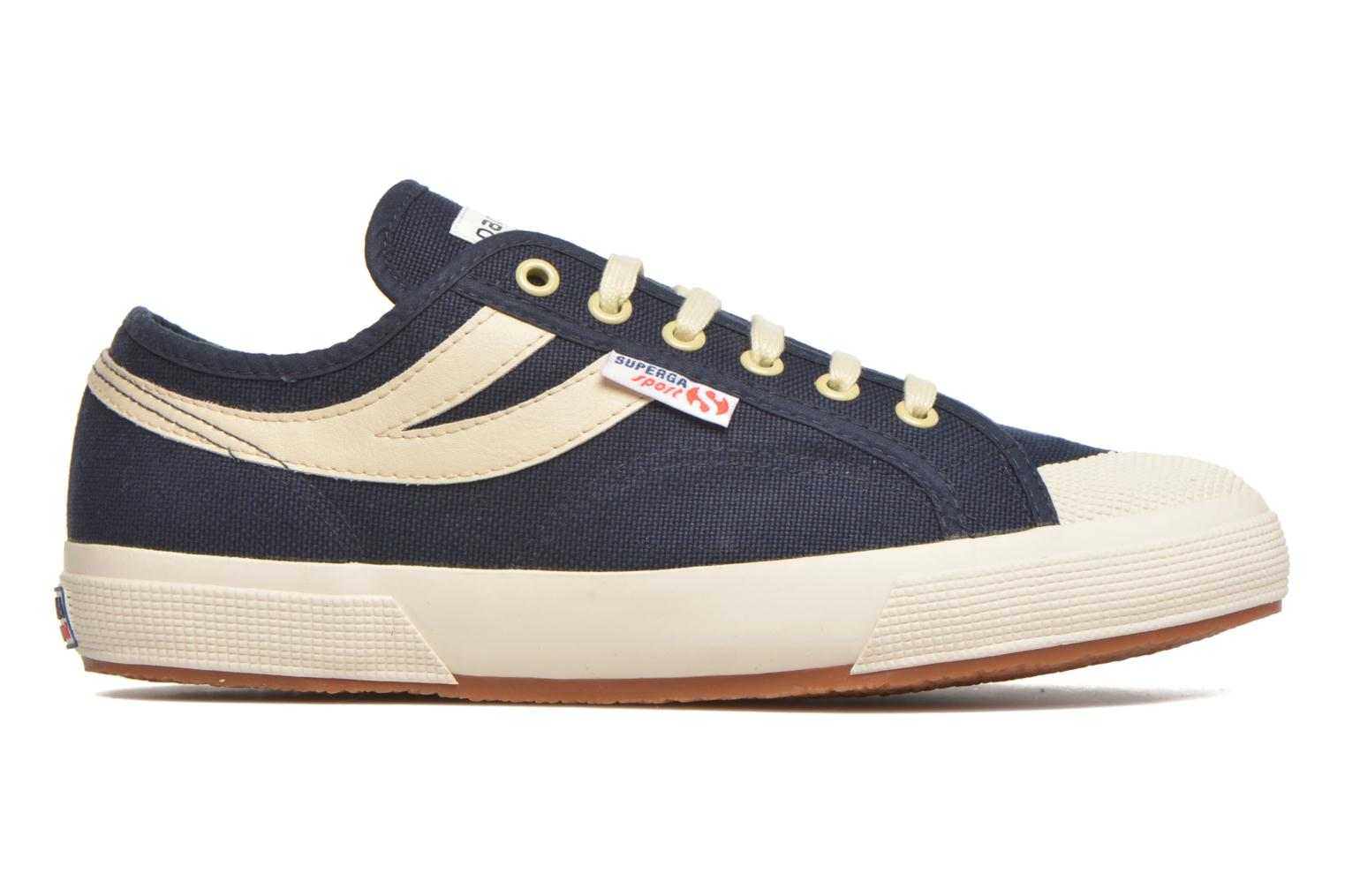 Trainers Superga 2750 Cotu Panatta Blue back view