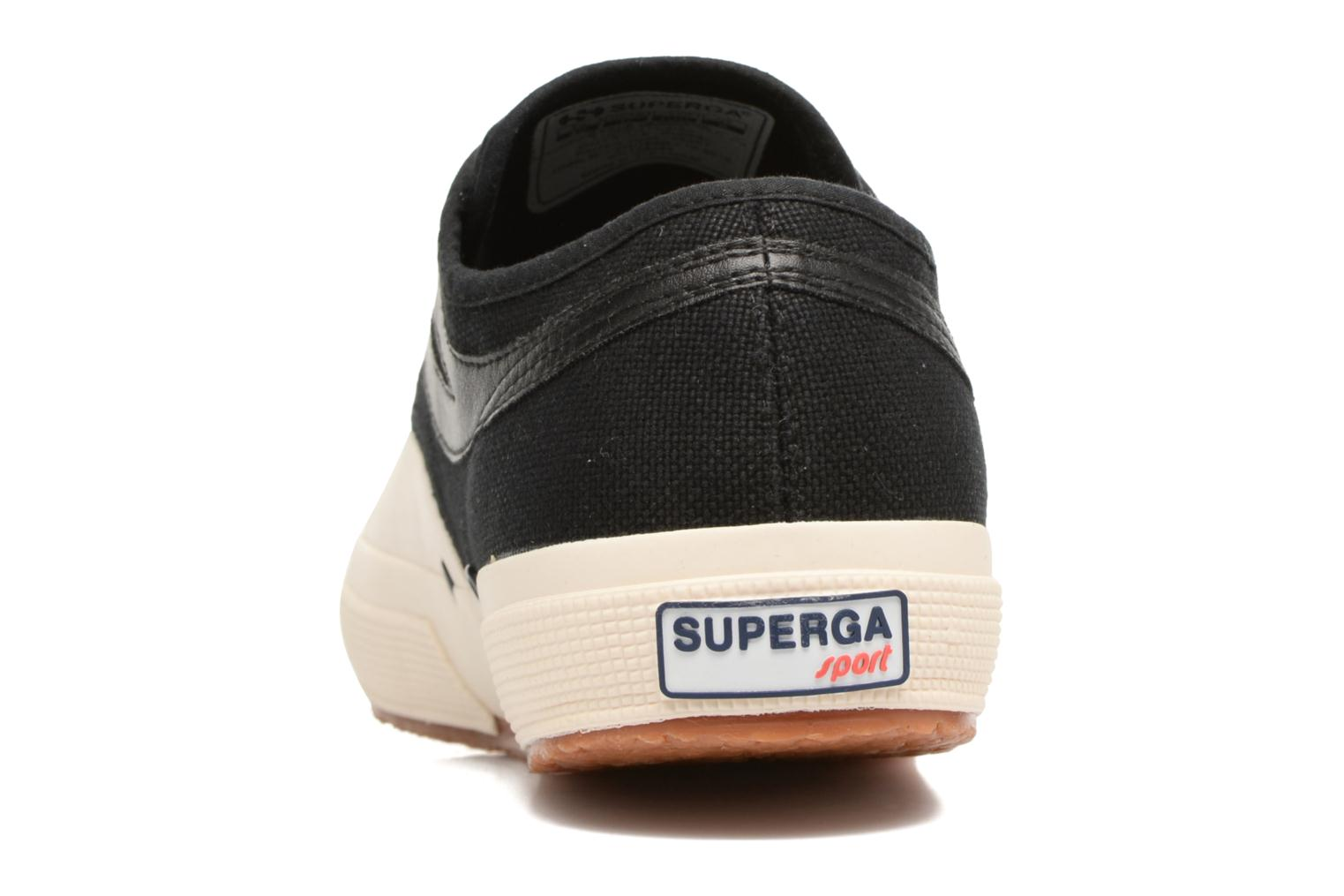 Trainers Superga 2750 Cotu Panatta Black view from the right