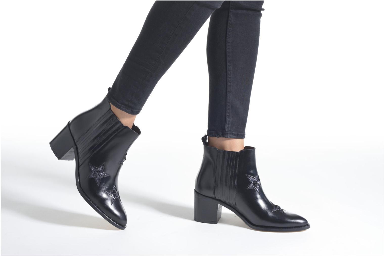 Bottines et boots Jonak Verseau Noir vue bas / vue portée sac