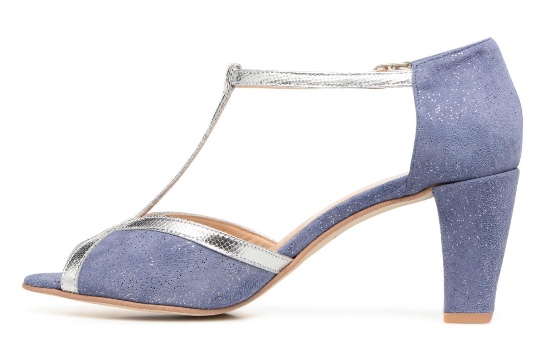 Zapatos de tacón Jonak Damaris Azul vista de frente