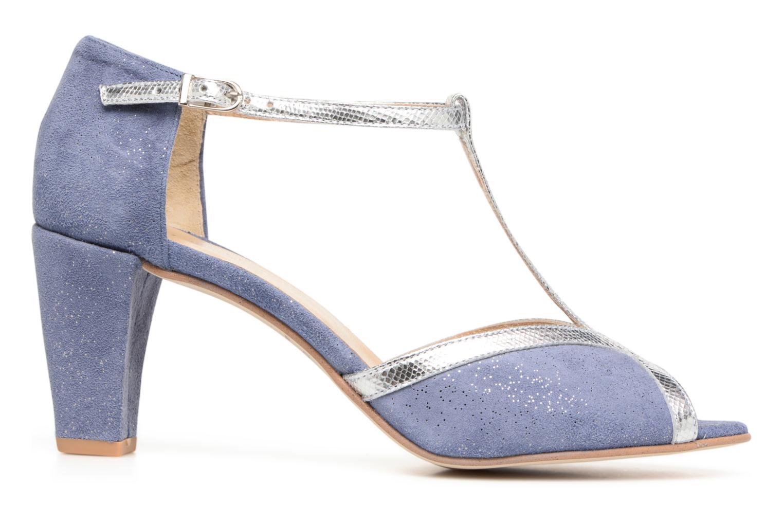Zapatos de tacón Jonak Damaris Azul vistra trasera