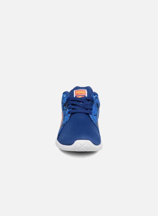 67c4bda9a16f3 Baskets Puma Inf St Trainer Superman   Ps St Trainer Superman Bleu vue  portées chaussures