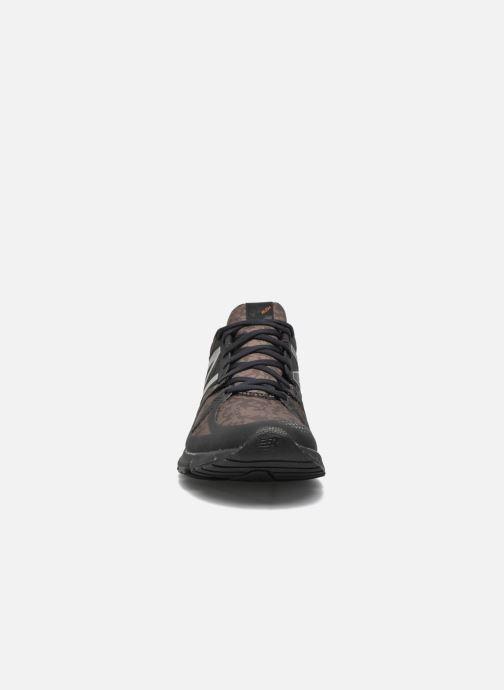 Baskets New Balance MLRUSH Noir vue portées chaussures