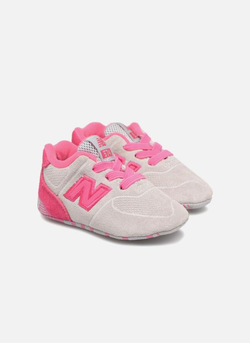 Trainers New Balance KL574 M Pink 3/4 view