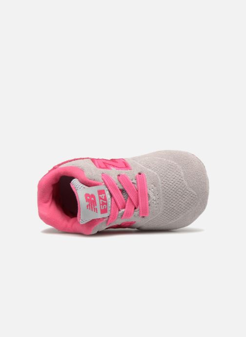 Trainers New Balance KL574 M Pink view from the left