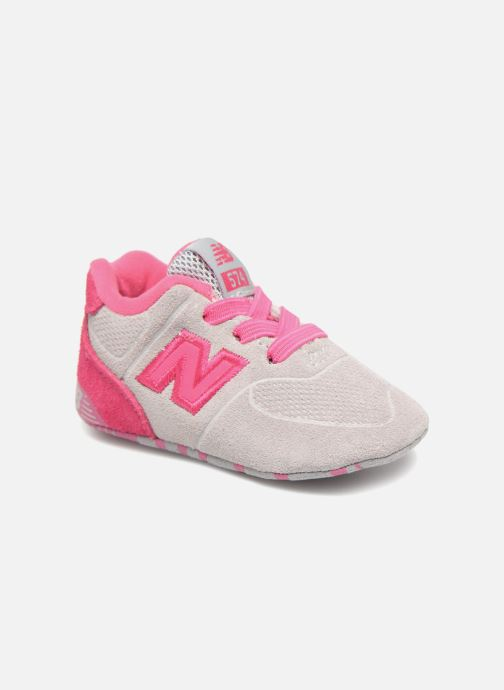 Trainers New Balance KL574 M Pink detailed view/ Pair view